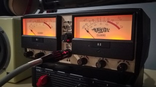 HC1 on VU Meter Prototype 2019